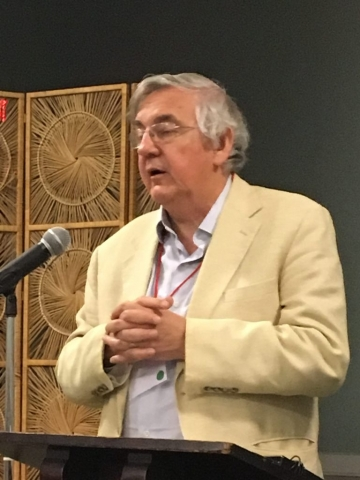 Dick Davis at Poetry by the Sea 2017