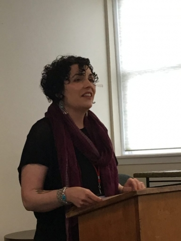 Jehanne Dubrow at Poetry by the Sea 2017