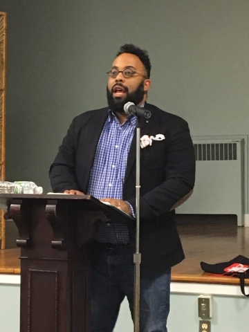 Kevin Young at Poetry by the Sea 2017